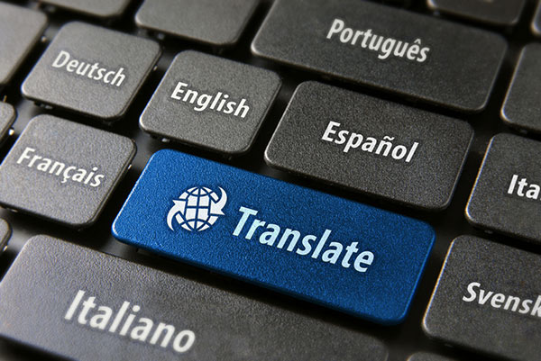Translation is not just like clicking a button