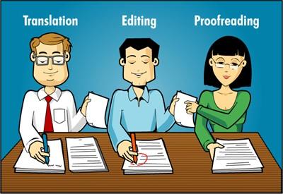 Translation Editing Profreading