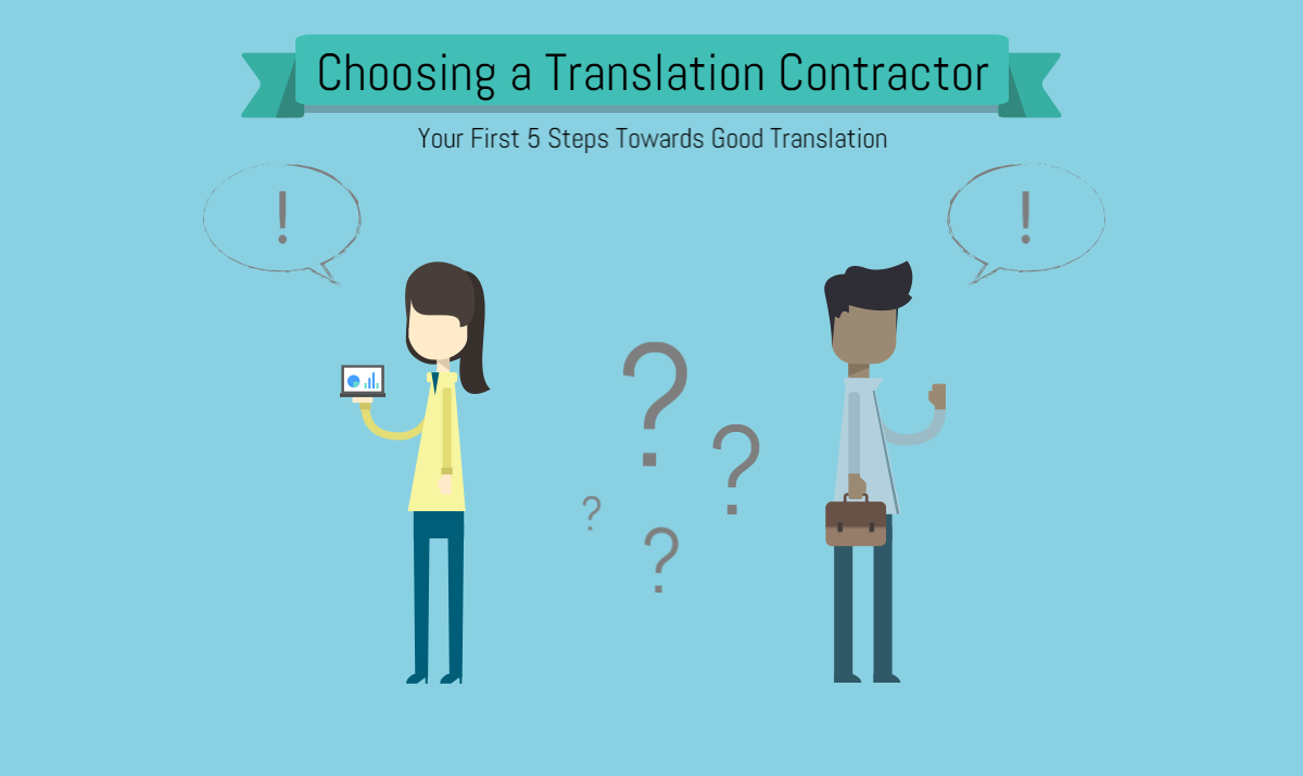 Find a Translation Contractor
