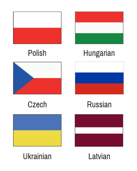 Target Languages